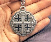 Jerusalem Cross or Crusader's Cross